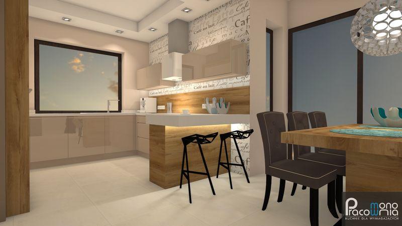 Projekt kuchni  projektant kuchni Pracownia Mono  MONO